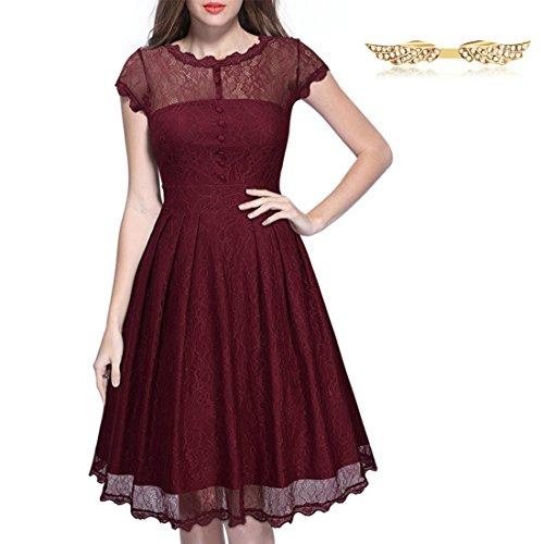 byd-mujeres-vestidos-encaje-cuello-redondo-perspectiva-a-line-drapeado-vestido-de-coctel-skater-dres