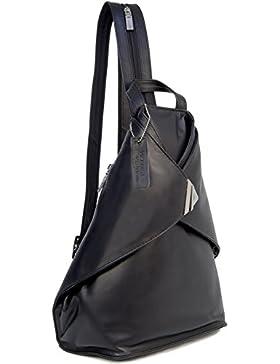 Rucksack aus Leder von Visconti - 18258 - Größe: B: 25 H: 35 T: 19 cm