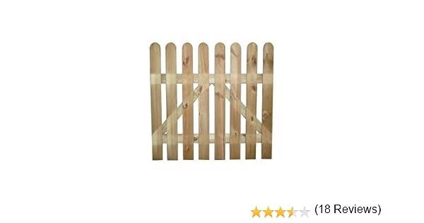 Doghe In Legno Per Cancelli : Cancelletto cancello in legno impregnato in autoclave h cm
