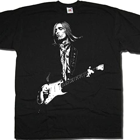 Tom Petty T Shirt by Old Skool Hooligans - Vintage On Stage Pout Picture!