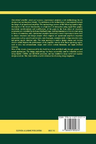 Operational Amplifier Speed and Accuracy Improvement: Analog Circuit Design with Structural Methodology (The Springer International Series in Engineering and Computer Science)
