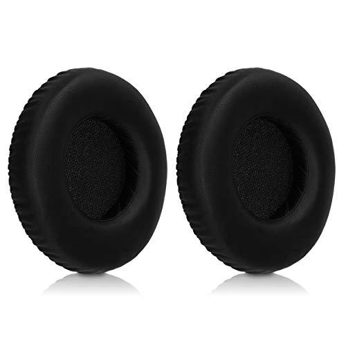 kwmobile 2x Auricolari di ricambio per AKG K240 / K240 MK II - Cuscinetti sostitutivi cuffie Over Ear in similpelle per Headphones K240 / K240 MK II - nero