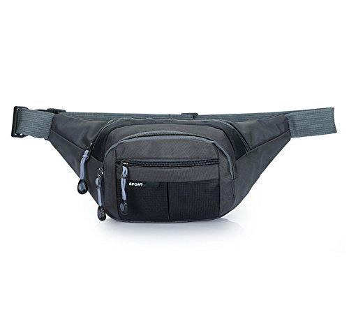Estwell Wasserdicht Bauchtasche Gürteltasche Outdoor Sport Reise Hüfttasche für Wandern, Laufen, Radfahren, Angeln