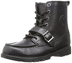 Polo by Ralph Lauren Ranger Hi II 90945 Boot (Toddler/Little Kid/Big Kid),Black,5 M US Toddler