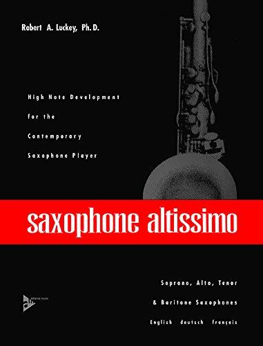 Sax Altissimo Saxophone