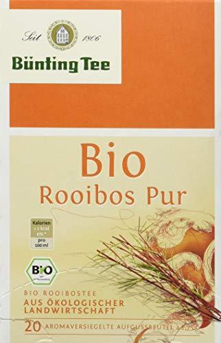 Bünting Tee Bio Rooibos 20 x 1.75g Beutel,  (1 x 35 g)