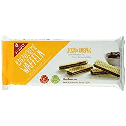 3 Pauly Kakao Creme Waffeln - glutenfrei, 6er Pack (6 x 125 g)
