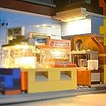 LIGHTAILING-Set-di-Luci-per-Simpsons-Jet-Market-Modello-da-Costruire-Kit-Luce-LED-Compatibile-con-Lego-71016Non-Incluso-nel-Modello