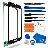 MMOBIEL Front Glas Reparatur Set für Samsung Galaxy S5 Mini G800 Series (Schwarz) Display mit 11 TLG. Werkzeug-Set
