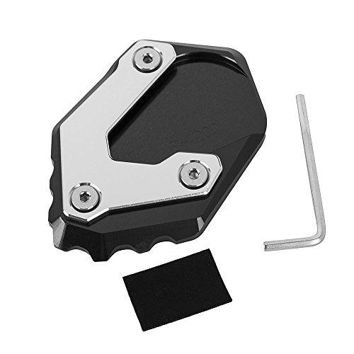 Nuovi Accessori per Moto Piastra Ingranditore Cavalletto in Alluminio Pad di Estensione per R1200GS LC 2013-2018, Non per R1200GS Adventure LC (Nero)