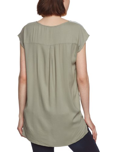 SELECTED FEMME - T-shirt Femme Multicolore - Mehrfarbig (Cley green)