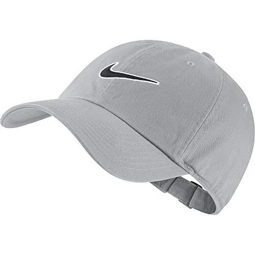 Nike Unisex-Erwachsene U Nk H86 Cap Essential Swsh Kappe, Grau (Wolf Grey), Einheitsgröße