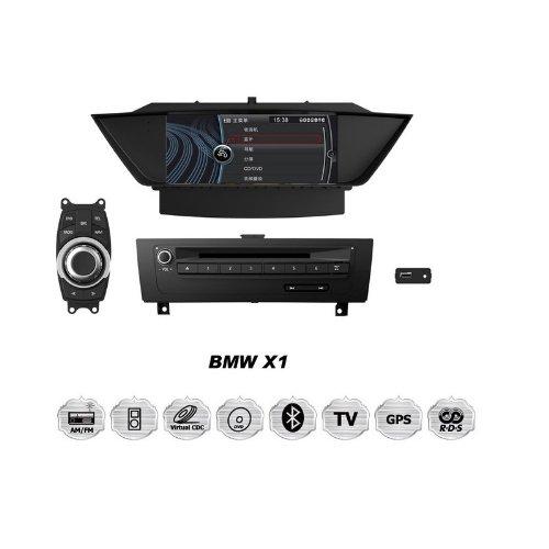 REALMEDIA BMW X1 OEM Einbau Touchscreen Autoradio DVD Player MP3