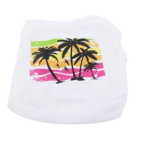 Sevenfly Haustier Kostüm Hundewelpen Katzen Hemd Kleidungs Weste T-Shirt, M