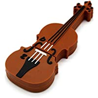 sjowq Musical Instrumento Modelo de 32 GB 64 GB Flash USB violín Guitarra Piano, 32GP