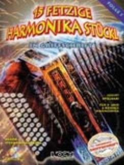 15 FETZIGE HARMONIKASTUECKL 1 - arrangiert für Steirische Handharmonika - Diat. Handharmonika [Noten / Sheetmusic] Komponist: WACHTBERG STEFAN