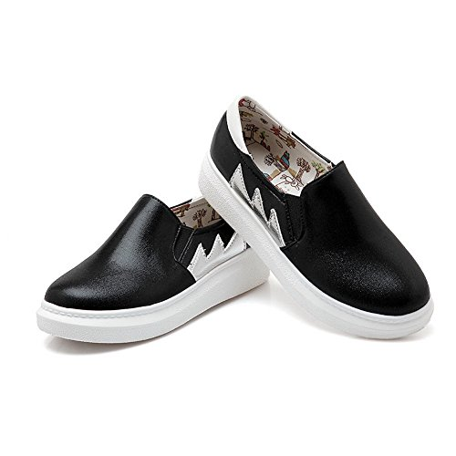 Balamasa - Chaussures Plateforme Femme Noires