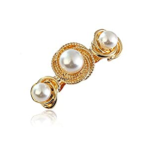 Sangni Einfache Mode Perlen mit Gold