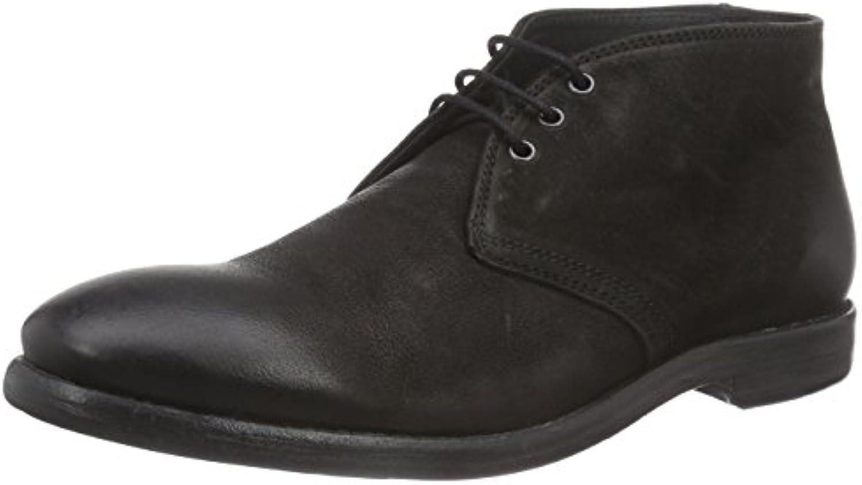 Mentor Herren Desert BootsMentor Desert Herren Schwarz Leather Billig und erschwinglich Im Verkauf
