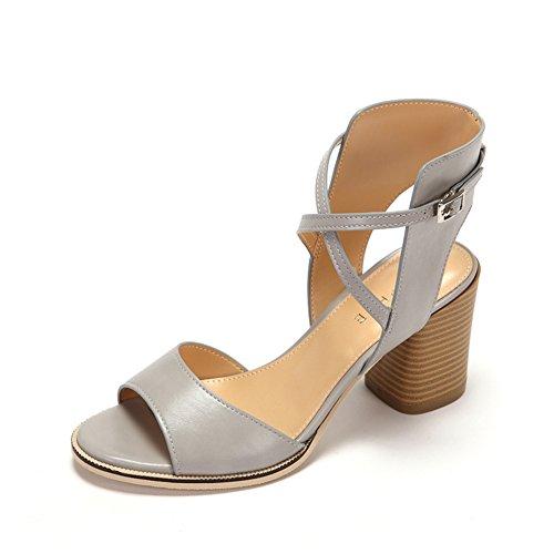 Sommer fisch mund dick mit schuhen/Gekreuzte wortwölbung römische sandalen A