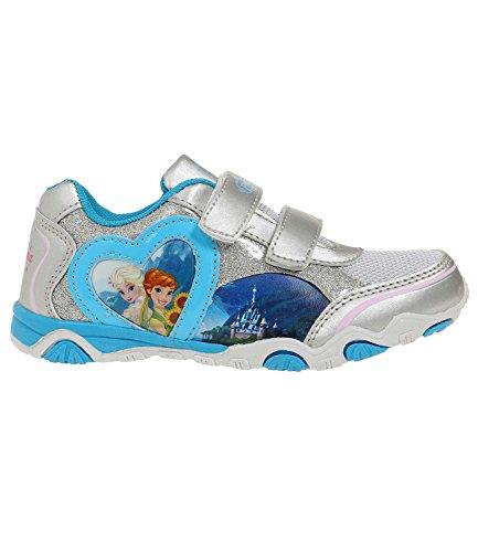 Disney El reino del hielo Chicas Deportivas - Azul - 25