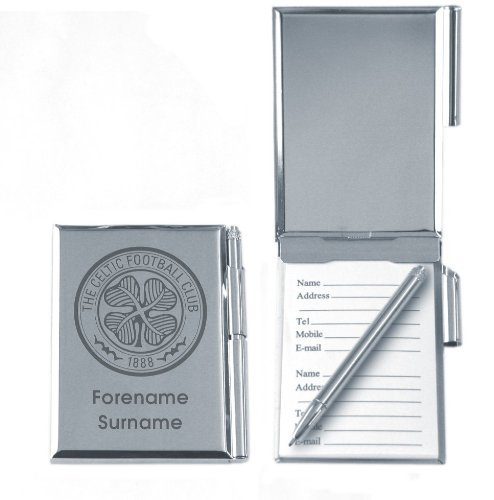 , Motiv Celtic Football Club, personalisiert Adressbuch fabelhaftes Geschenk NEU (Adressbuch Personalisierte)