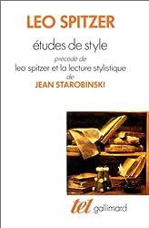 Études de style