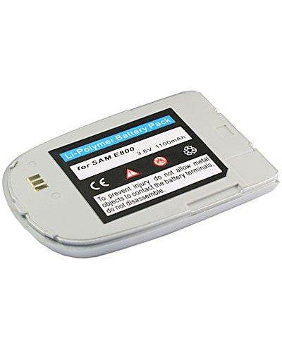 cellePhone Akku Li-Polymer für Samsung SGH-E800 / E820 - silber ( ersetzt BSTE800E / BST2927SE / BST2927VE )