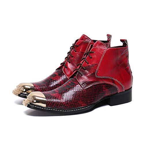 Erwachsene Knight Hat - XER Herrenschuhe Martin Boots, Fashion Casual
