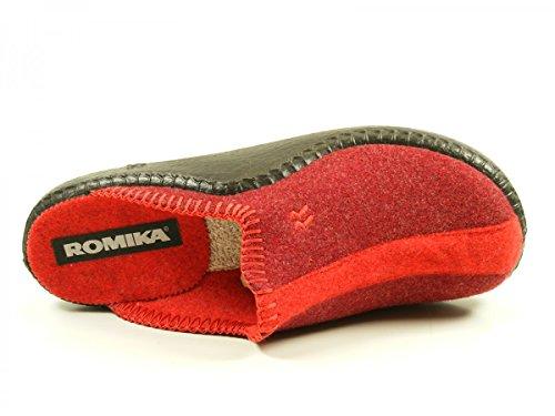 Romika - Mokasso 62, Zoccoli Uomo Rot