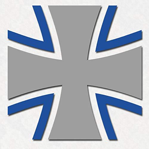 Sticker Aufkleber Bundeswehr Kreuz Heer Marine Luftwaffe 10x10cm #A065