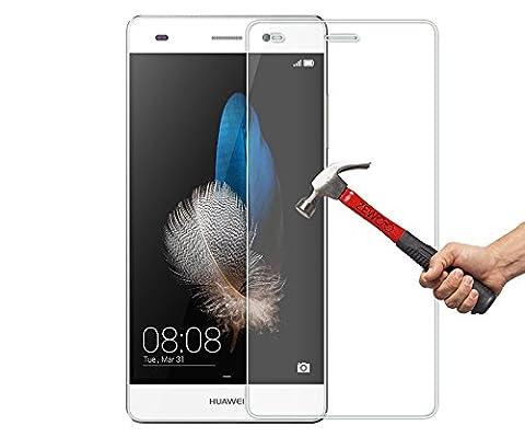 ZIMA® Film vitre de protection écran pour Huawei P8 lite 2015 en verre trempé haute transparence et ultra résistant (incassable, inrayable 9H)