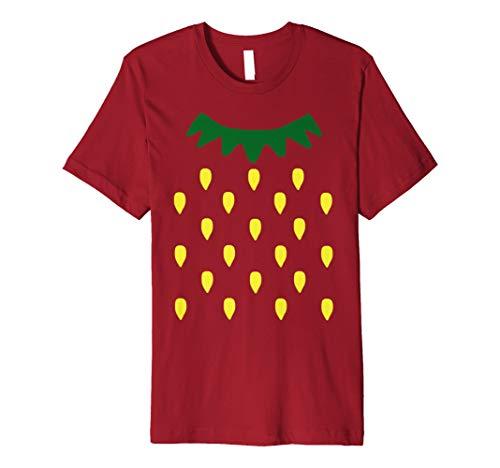 Erdbeere Kostüm Shirt-Halloween-Kostüm Fruit Tee