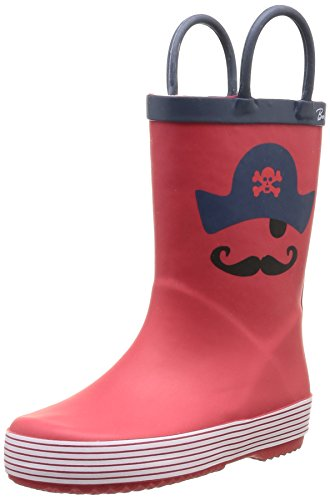 Be Only - Mousty, Polacchine unisex bambino, color Rosso (Rot - rot), talla 33