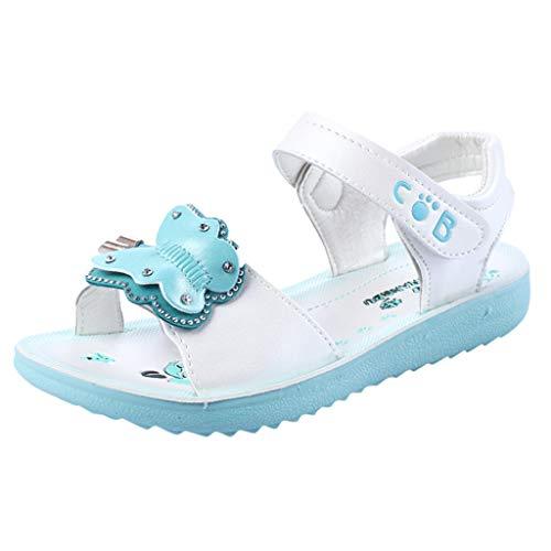 Ears Sommer Kinder Mädchen Böhmische Sandalen Lässige Schmetterling Sandalen Prinzessin Schuhe Sommer Römische Schuhe Vintage Strand Sandalen Lässige Tuch Schuhe Beiläufig Flache Fußschuhe