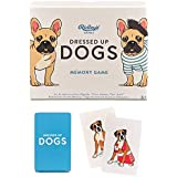 Ridley's Games GME052 Dressed Up Dogs Memory Game Card, Multi