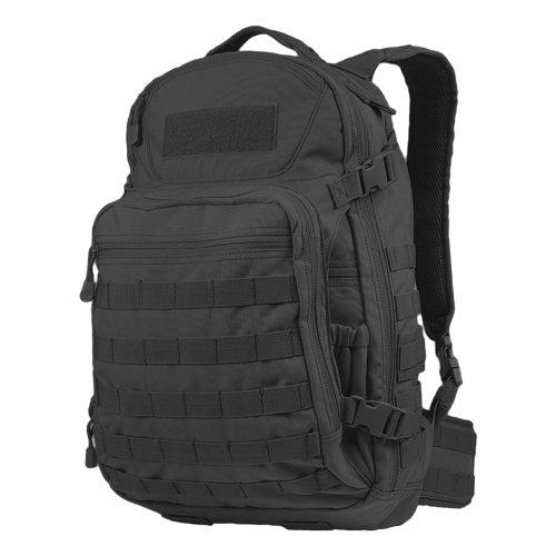 Condor Venture Pack Schwarz (Notebook-abschnitt Gepolsterte)
