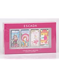 Escada - Collectors Edition - 4 x 4ml EDT Miniatures - Taj Sunset + Cherry in the Air + Born in Paradise + Turquoise Summer
