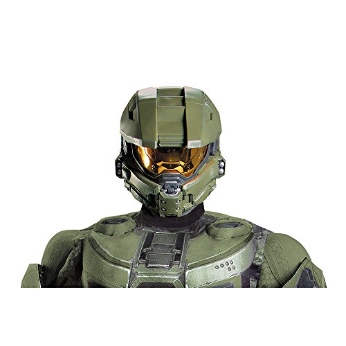 (Halo Master Chief Costume Full Helmet Adult One Size)