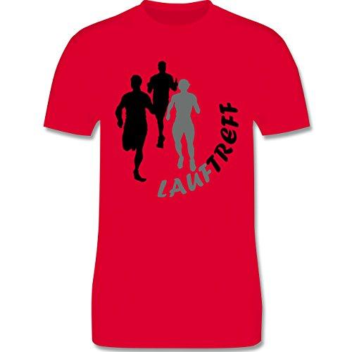Laufsport - Lauftreff - Herren Premium T-Shirt Rot