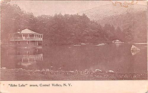 Echo Lake Central Valley, New York Postcard