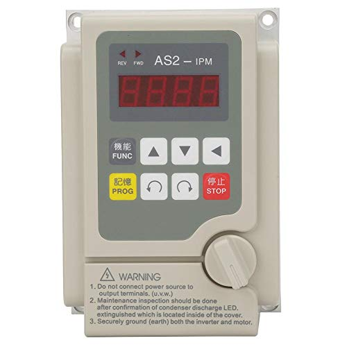 Wechselrichter mit variabler Frequenz, einphasiger Eingang/dreiphasiger Ausgang 220 V Wechselrichter mit variabler Frequenz für einen Motor mit 0,4 kW