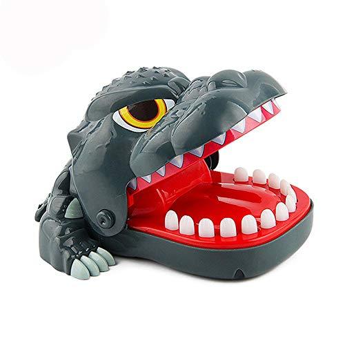 FOONEE Bite Finger Toy, Dinosaur/Coccodrillo/Bulldog Biting Finger Dentista Gioco Classico Giocattolo Divertente Regalo Divertente Giocattoli per Bambini Dinosaur