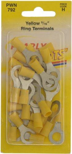 pearl-pwn792connecteurs-de-cble-bague-5-406cm-jaune-lot-de-25