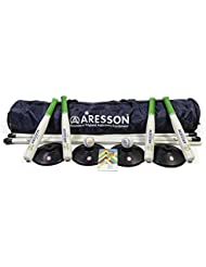 Aresson Team Builder - Set de rounders de adulto, azul, negro y verde