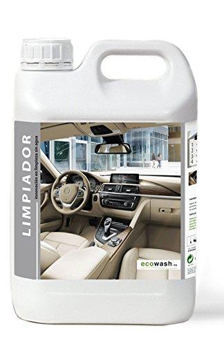 Ecowash Quitamanchas y Limpiador de Grasa y Suciedad de Interior de vehículo (5.L)
