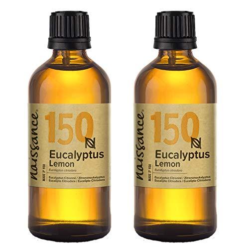 Naissance Eucalyptus Citriodora (Zitroneneukalyptus) 200ml (2x100ml) 100% naturreines ätherisches Öl