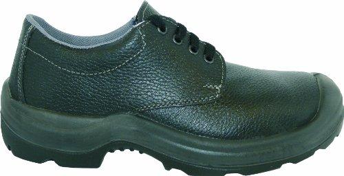Chaussure de sécurité S3 2443-0-100-46 Chaussure, Embout en acier (Largeur 11), Semelle intercalaire en Acier, Cuir, leichte Polyuréthane/Polyuréthane Laufsohle, Öl et Benzin beständig, Antistatique,