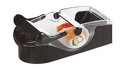 Sushi Maker pour la fabrication de maki et sushi (Kit de Sushi Kit de, Roller, 2Bols, Cuillère en bois de sauces de riz, bois de bâtonnets)