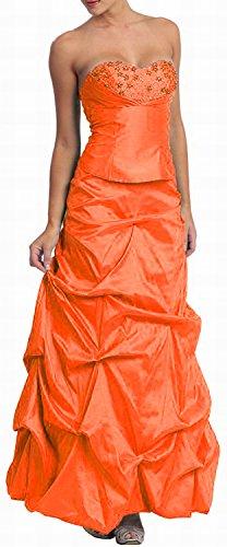 Nachtigall+Lerche -  Vestito  - linea ad a - Basic - Donna Arancione